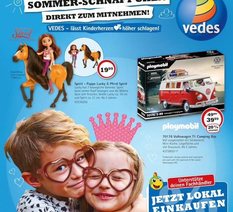 VEDES – Sommerflyer