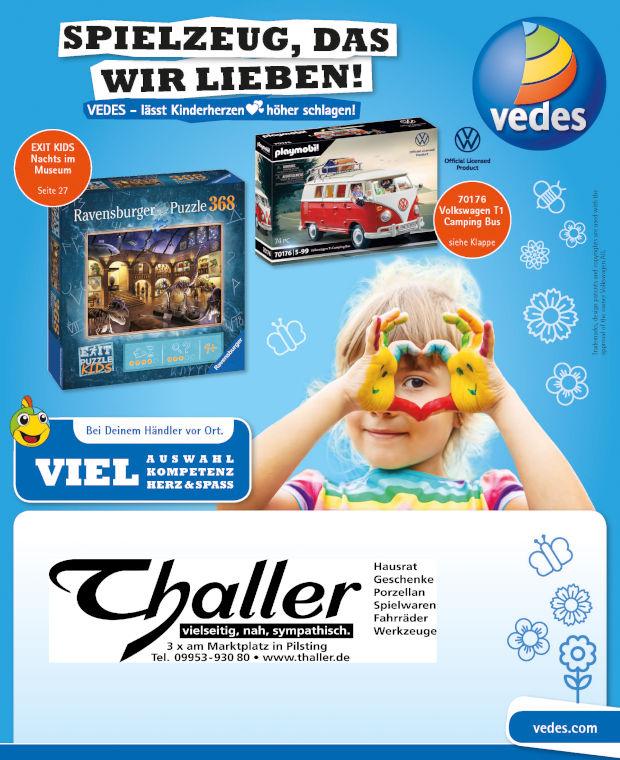 Thaller spielzeug Katalog 2021-03-01